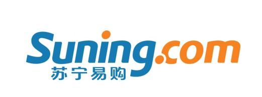 """苏宁易购频道新Logo   针对新标识突出域名而中文部分字体较小的问题,孙为民回应称,""""主要是两个原因,首先新标识主推suning.com网址,直接凸显英文域名。其次在网上推广中,屏幕空间有限,中文与英文同样大小,推广费用要增加很多。"""""""