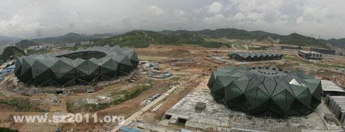 深圳2011世界大运会一场两馆建设将完成