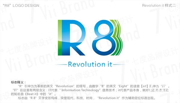 R8品牌LOGO设计-2