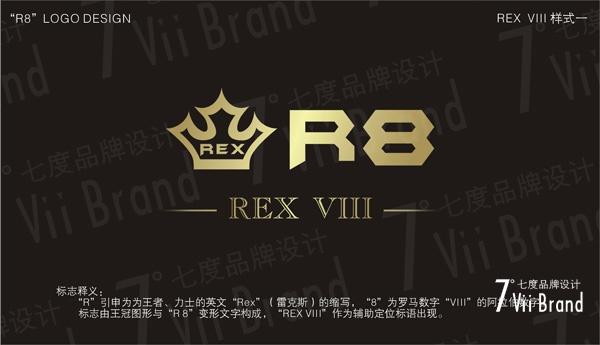 R8品牌LOGO设计-3