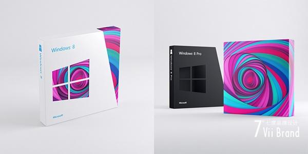 Windows 8包装盒设计欣赏