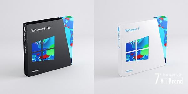 win8包装盒设计欣赏 - 品牌资讯 - 七度品牌设计