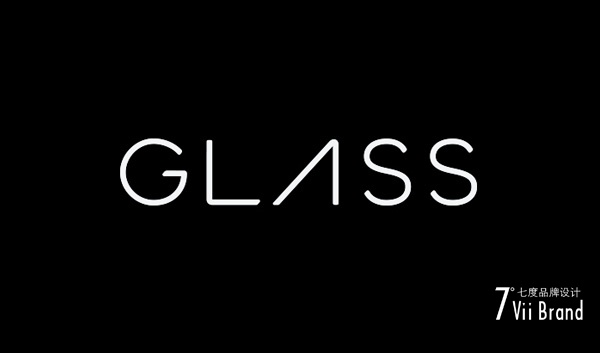 google glass谷歌眼镜logo设计欣赏