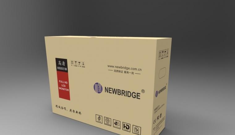 Newbridge液晶显示器包装