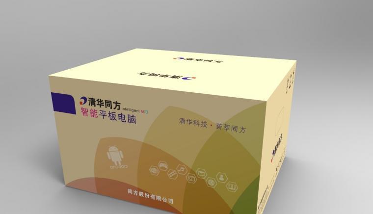 清华同方卡通箱包装设计