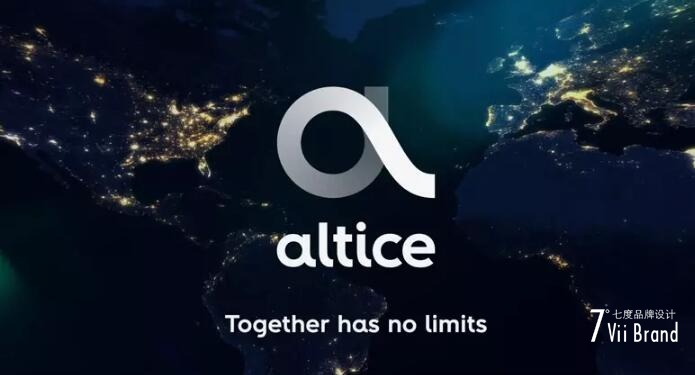 欧洲电信和媒体巨头 Altice集团 更换全新形象LOGO