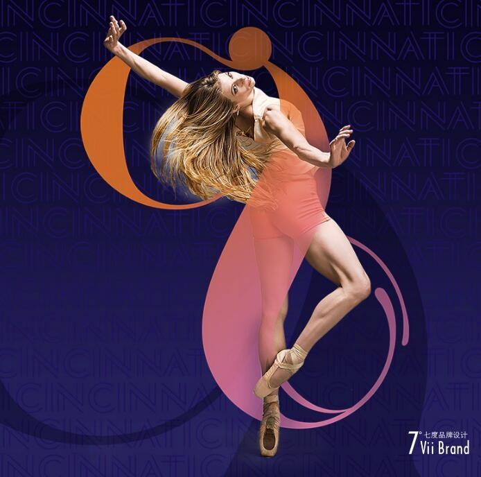 辛辛那提芭蕾舞团(Cincinnati Ballet)启用LOGO